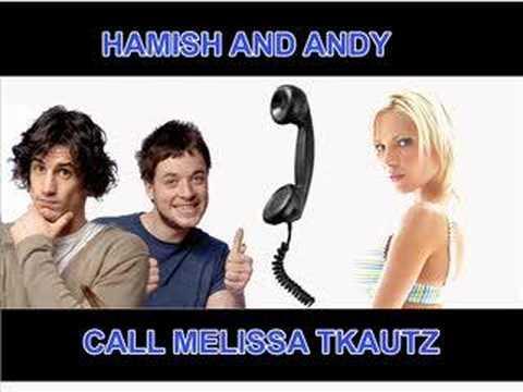 Melissa Tkautz gets a call!