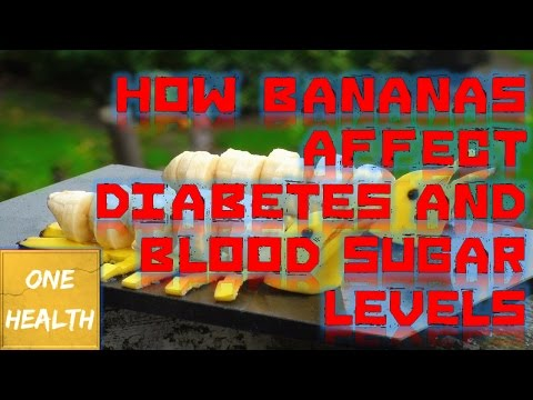 How Bananas Affect Diabetes and Blood Sugar Levels - One Health