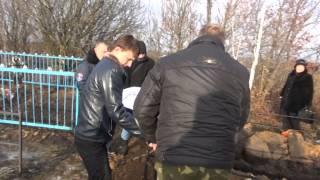 Похороны казака Гладких Григория Константиновича. 18.12.2014