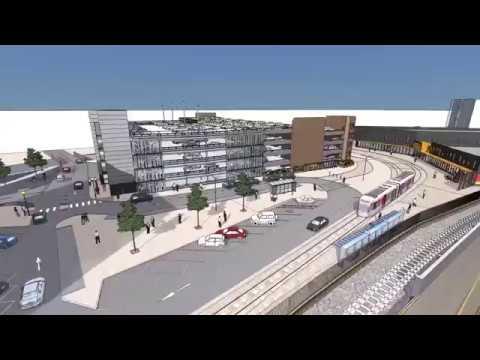 Wolverhampton Railway Station new access virtual tour