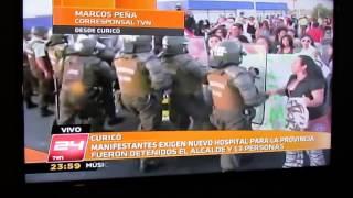 Protesta en Curicó por Hospital