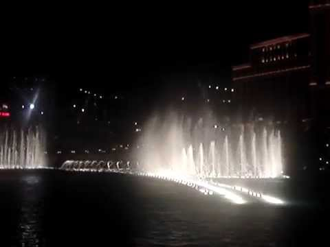 Waterfront show at the Bellagio Hotel in Vegas-part 2