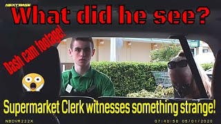 What Did He See? Dashcam Footage!