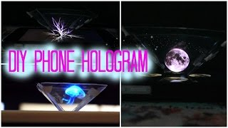 DIY Easy 3D Phone Hologram (Without A CD Case)