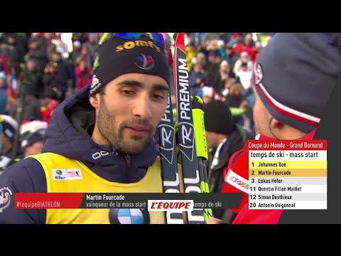 Biathlon - CM (H) - Le Grand Bornand : Martin Fourcade «J'ai pris mes responsabilités»