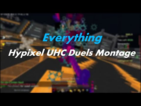 """""""Everything"""" - Hypixel UHC Duels Montage"""