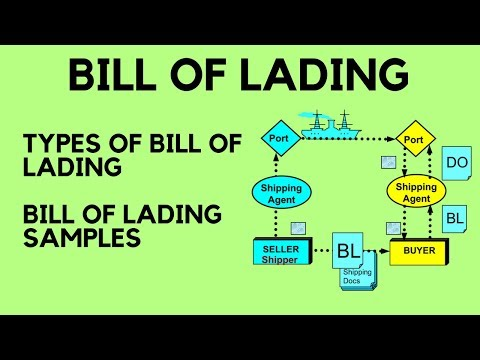 Bill of Lading : Types of Bill of Lading & Bill of Lading Sa