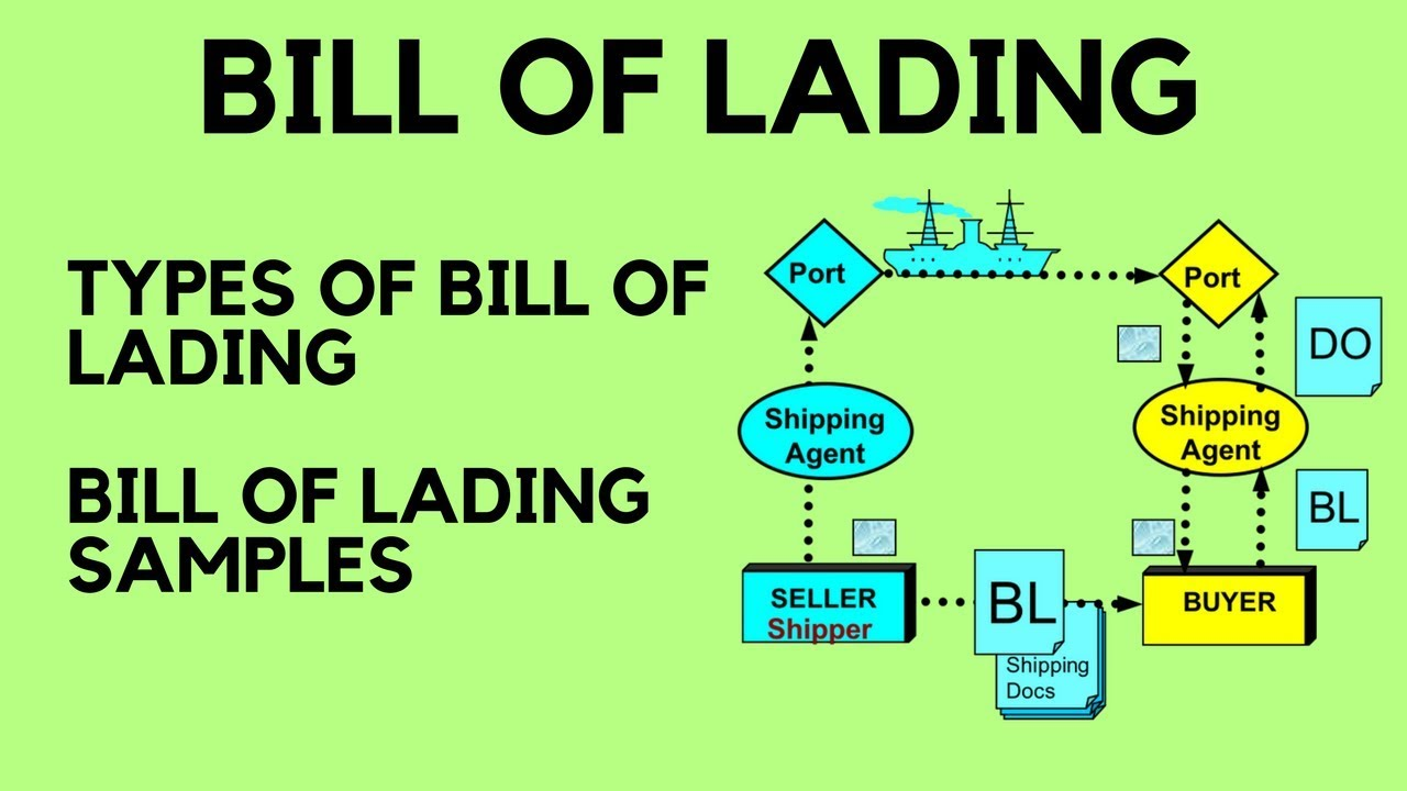 bill of lading date definition relationship
