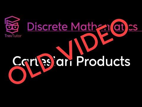[Discrete Math 1] Cartesian Products