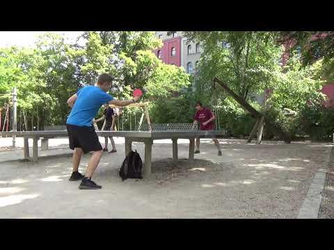 Tischtennis An Der Frauenschule Fuerth  Mit Den Steinb     An Der Steinplatte 20190619  28