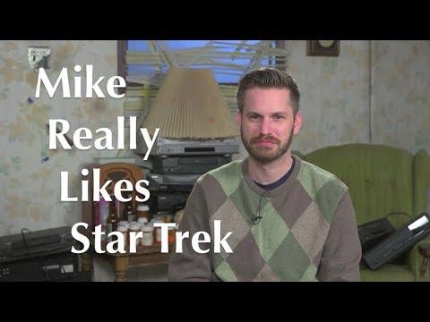 Mike Stoklasa Really Likes Star Trek