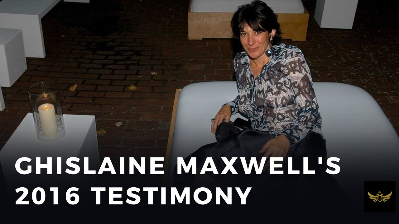 Ghislaine Maxwell's 2016 testimony comes back to haunt her