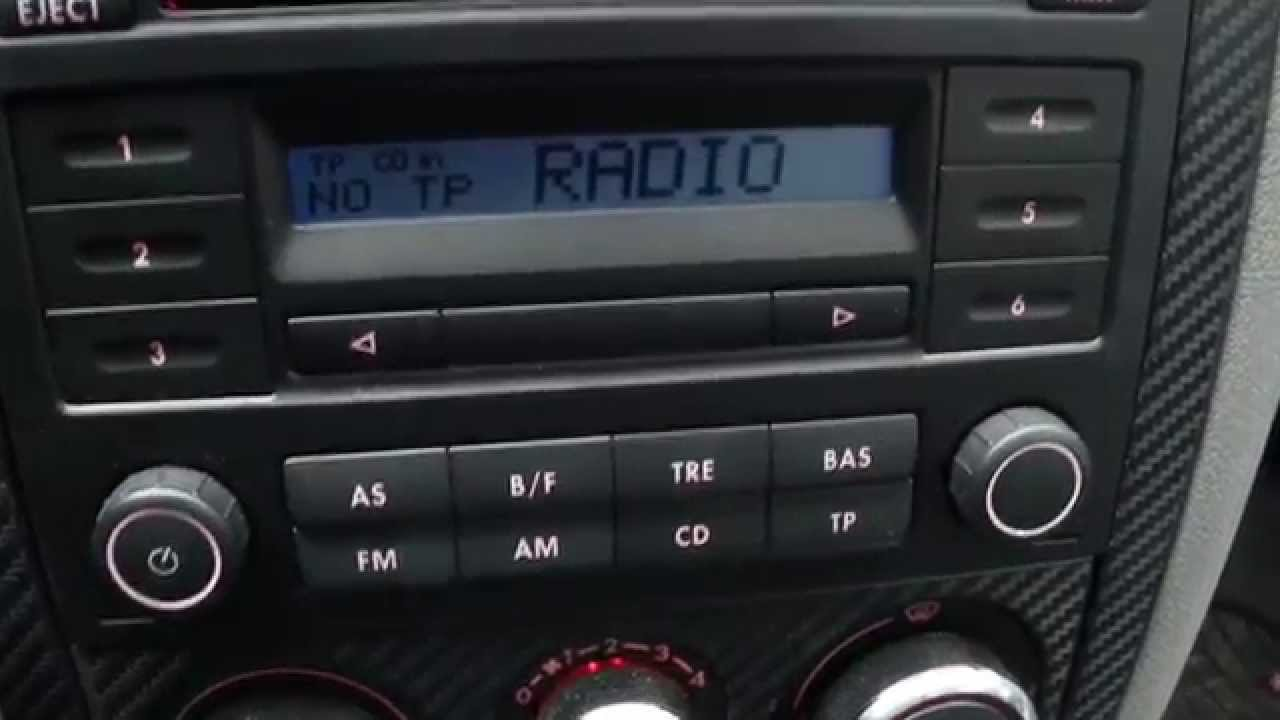 radio rcd 200 in golf iv mk4 youtube. Black Bedroom Furniture Sets. Home Design Ideas