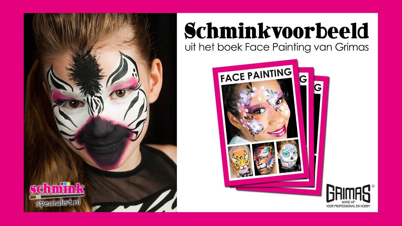 Schminken Zebra Zebra Schminken Fasching 2020 02 01