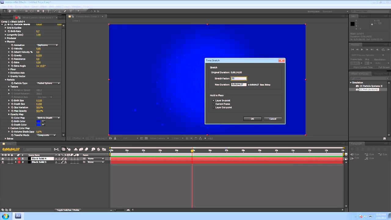 Adobe after effects cs5 tutorial cc particle world and rendering adobe after effects cs5 tutorial cc particle world and rendering gumiabroncs Images