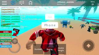 Boxe simulatore 2 Roblox and esso cade!! Ehm...