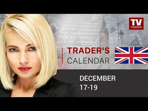 Trader's calendar December 17 - 19