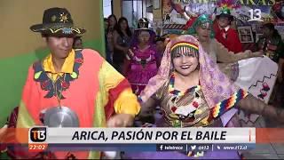 Arica y la pasión por el baile