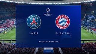 Psg vs bayern munich xbox one s full match gameplay, fifa 19. brand new game play. goals, goals. how will neymar perform. munichxbox game...