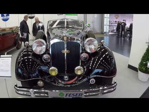 HORCH 853 SPORT CABRIO 1936 ( AUTO UNION ZWICKAU) CLASSIC CAR  WALKAROUND