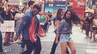 Half Girlfriend: Arjun And Shraddha Kapoor's Raita Song Dance At Times Square