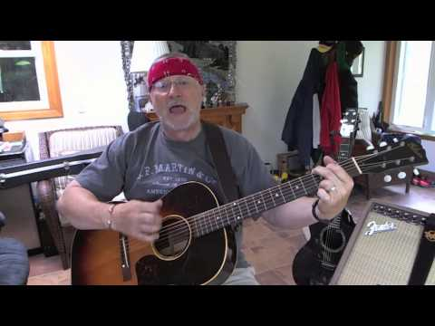 1260  - T R O U B L E -  Travis Tritt cover with guitar chords and lyrics in description