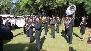 เพลงสรรเสริญพระบารมี บรรเลง โดย วงดุริยางค์ ทหารบกกาญจนบุรี