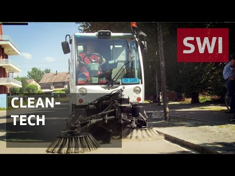 Hydrogen-powered street sweeper hits the road