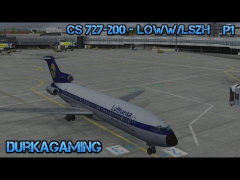 P3Dv3.2 - CS 727-200 Vienna/Zurich  LOWW/LSZH - Part 1