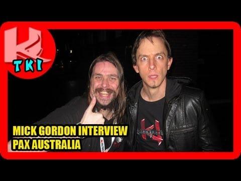 PAX AUSTRALIA 2013 - Mick Gordon Interview