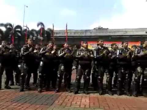 Yel Yel Semangat Menuju Pam Pemilu 2014 ( Dalmas Satpol Pp Jakarta Selatan )
