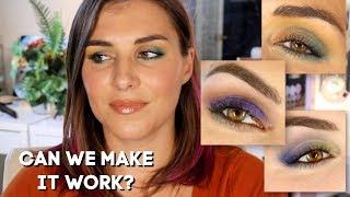 Blue Eyeshadow for Hazel Eyes? I Wasn't So Sure... | Bailey B.