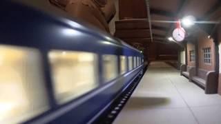 【HOゲージ鉄道模型】夜明けのブルートレイン(EF66+14系14形特急寝台車)
