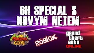 6H NEW NETEM SPECIAL!!! | PIXELMON & ROBLOX & GTA V w/Hadr, Jirka, Bozi, Mates, Emily, Asparah