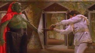 Bala Krishna & Beast Action Scene || Bhairava Dweepam Movie