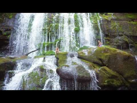 North Shoal Falls in Murphy North Carolina (WATERFALL ADVENTURE!)