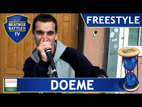 Doeme from Hungary - Freestyle - Beatbox Battle TV