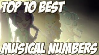 Top 10 Best Musical Numbers in Friendship is Magic