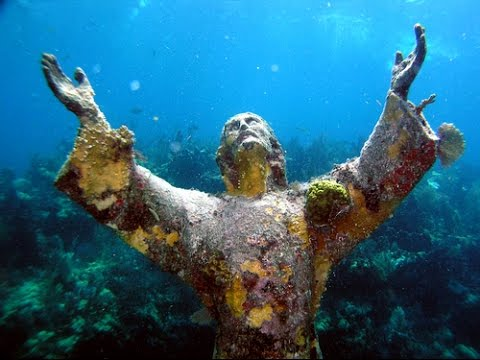 The Christ Statue - Key Largo Dry Rocks