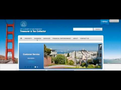 Register A Business Treasurer Tax Collector