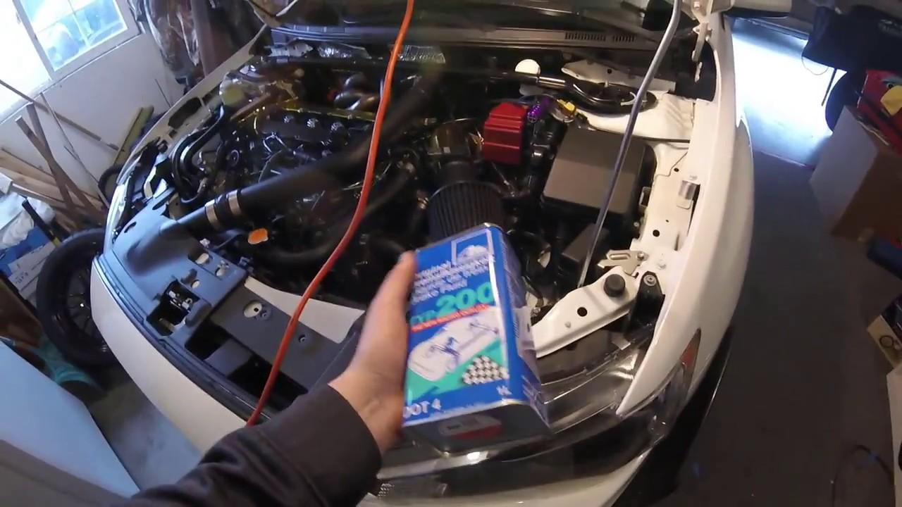 Brake Fluid Flush >> Evo X how to brake fluid flush/Slave cylinder!!! - YouTube