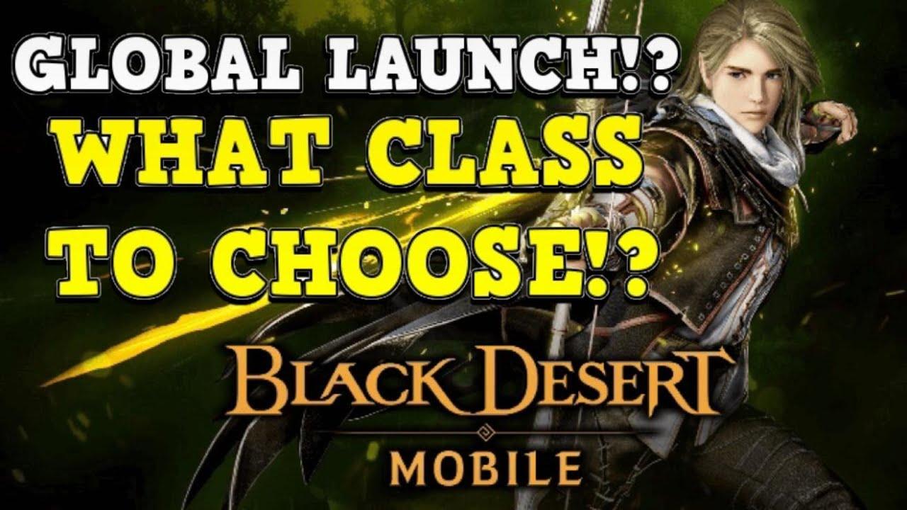 Bdo Best Pvp Class 2021 Best Class!?   Choosing My Class   Black Desert Mobile   YouTube