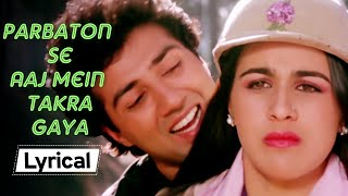Parbaton Se Aaj Main Takra Gaya Lyrical   Betaab (1983)   Sunny Deol   Amrita Singh   Bollywood Song