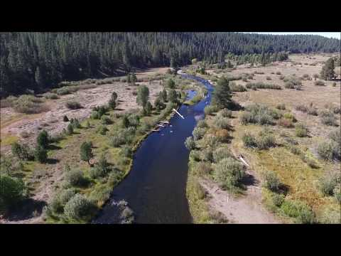 Little Truckee River, Drone Video