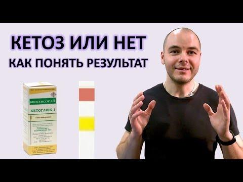 Полоски для определения кетонов | Как понять результат