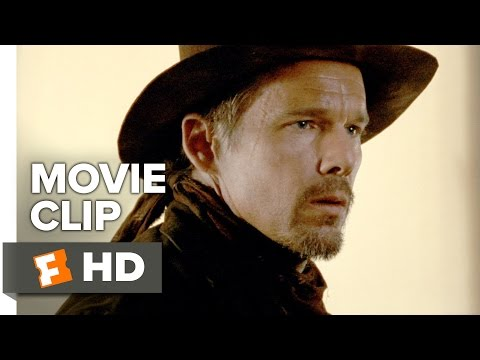 In a Valley of Violence Movie CLIP - Smells Like a Bum (2016) - Ethan Hawke Movie