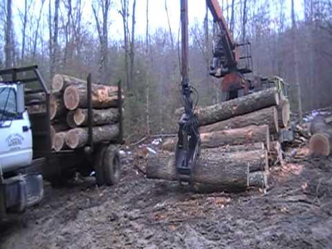 Small Trucks For Sale >> husky brute 140 log loader - YouTube