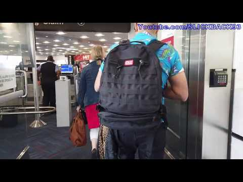 Miami Airport AA Bag Claim/Shuttle Train/Ticketing (POV WALK)