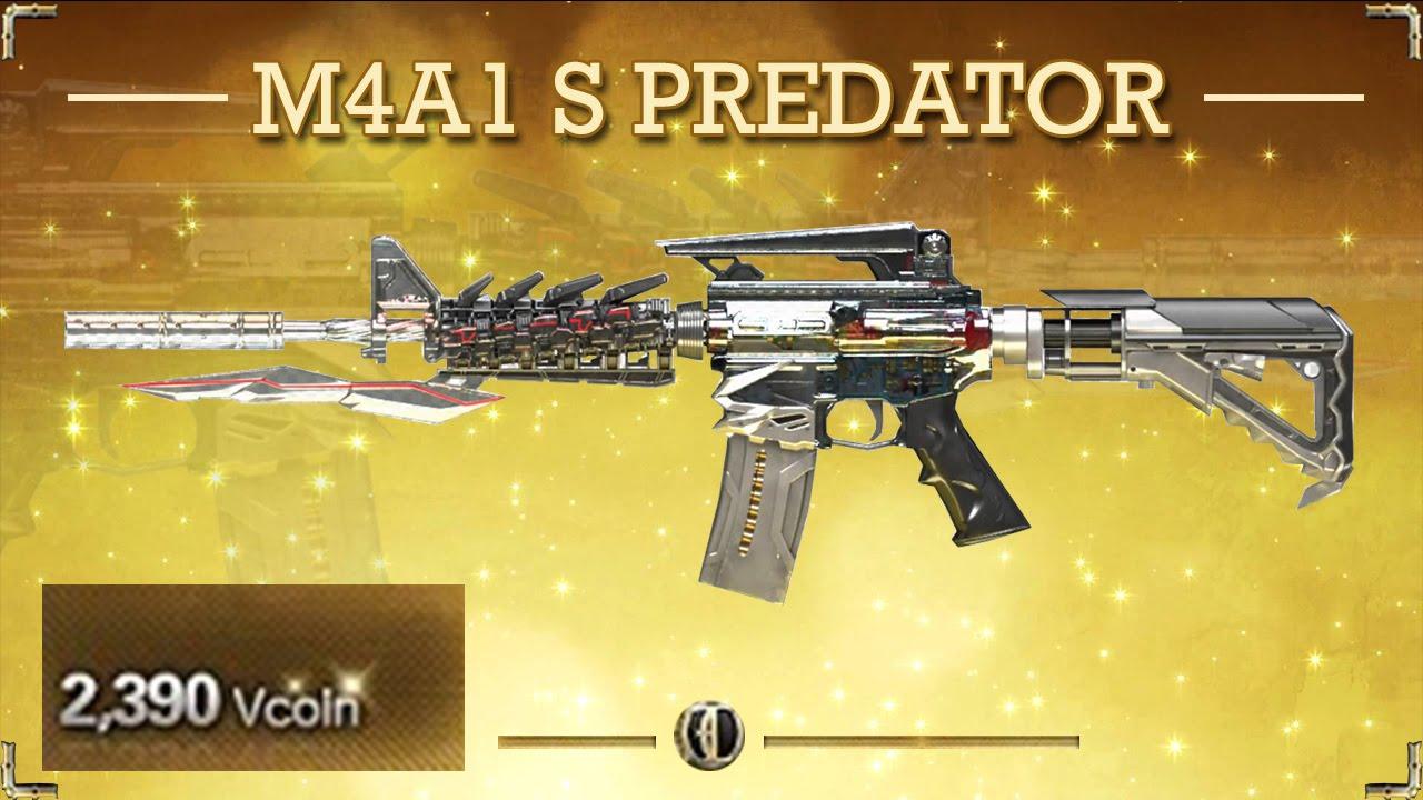 [CFVN] M4A1 S Predator súng VIP mới nhất đột kích - YouTube