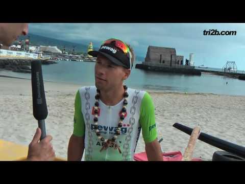 IRONMAN HAWAII 2016: Stefan Schmid - Platz 25 - im Zielinterview
